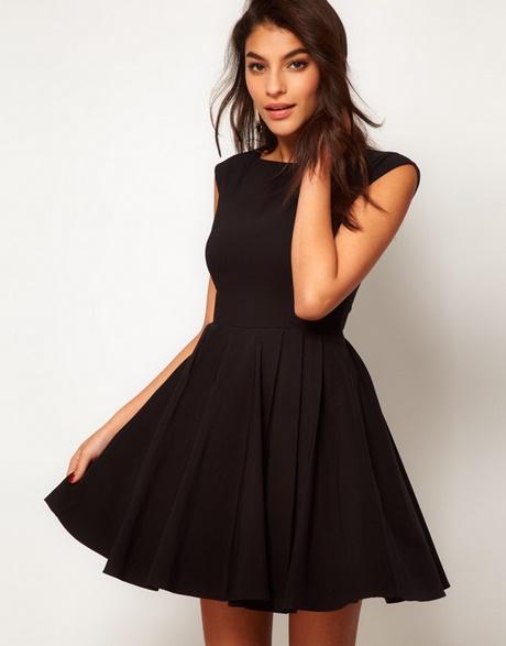 Miniola Vintage - 1960s Silk Black Dress with Boning
