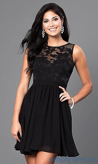 Short Black Sundress