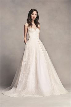Fishtail wedding dresses vera wang