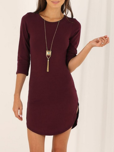 Casual Maroon Dresses