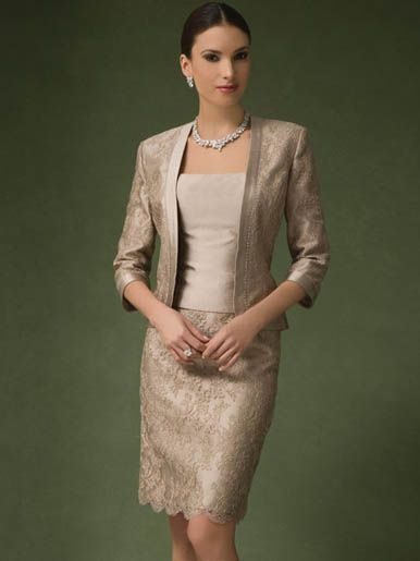Mother Of The Bride Skirt Suits