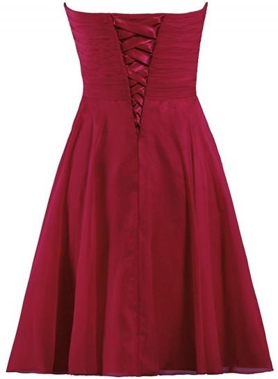 Cute Maroon Dresses