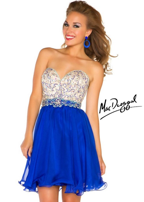 Blue hoco dresses