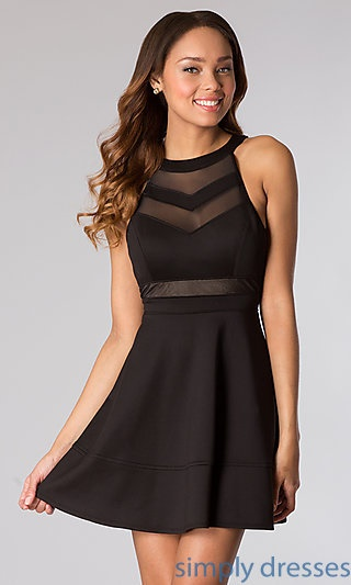 black party dress black dresses for homecoming 12071