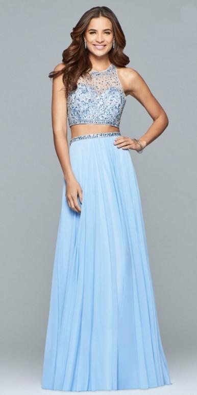 2 Piece Dress For Prom